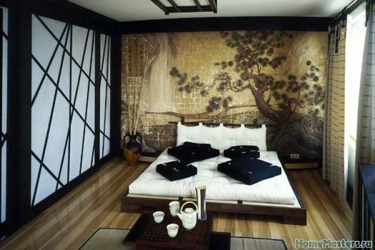 Спальня в восточном дизайне | Дизайн интерьера спальни | Фотогалерея ремонта и дизайна | Школа ремонта. Ремонт своими руками