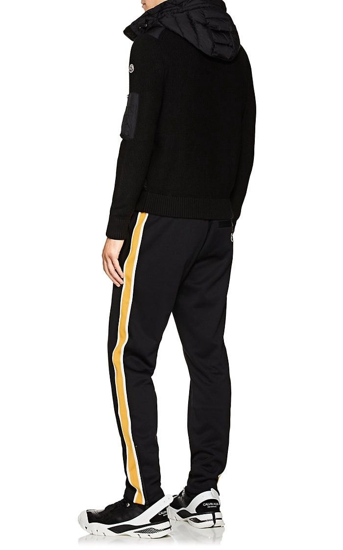 21d1b40b0fc435 Moncler Striped Jersey Track Pants - M Yellow in 2019 | Products ...