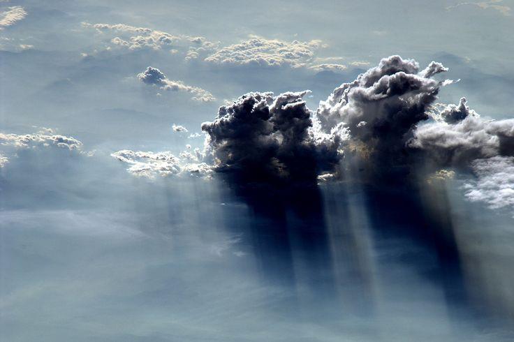 Clouds / Nuvole from Italian astronaut Paolo Nespoli's Flickr stream via @binx