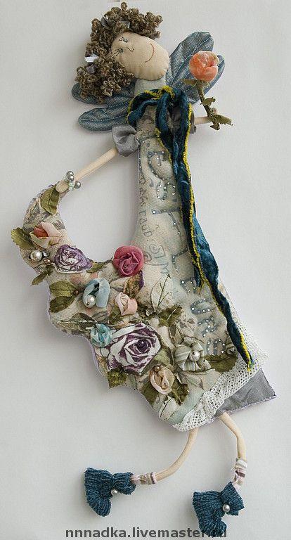 цветочная - ангел,подарок,авторская кукла,цветы,фея,Цветочная фея,бурдакова надя