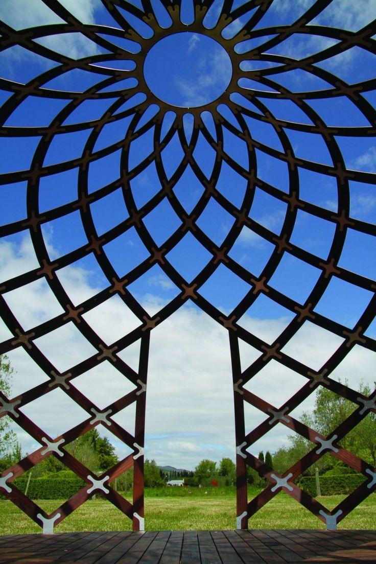 Dream Space Dome Design By David Trubridge