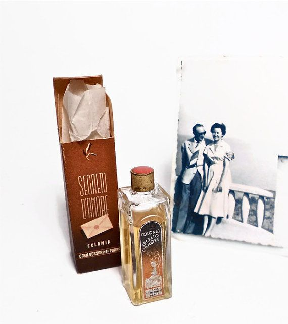 vintage bottle collectible old antique 1930s moni by danycoty, $40.00