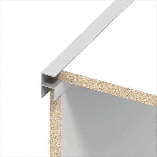 Bildergebnis für möbelbau kantenschutz profil