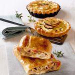 Scopri+come+preparare+le+quiche+di+funghi+e+patate,+la+ricetta+di+un+piatto+vegetariano+gustoso+e+leggero,+facile+da+realizzare.