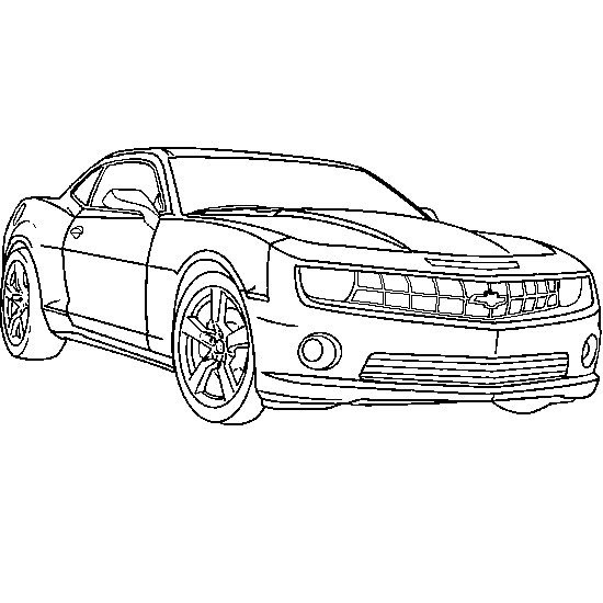 Cars And Vehicles Coloring
