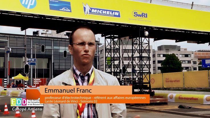 Emmanuel Franc, professeur au lycée Léonard de Vinci à #Soissons #Picardie : la genèse d'un projet #EDD international