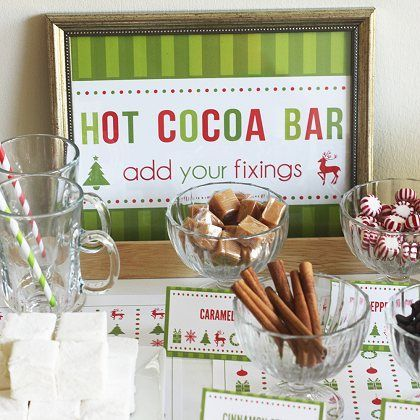 The Ultimate Holiday Party: Cookie Exchange + Hot Chocolate Bar | Spoonful