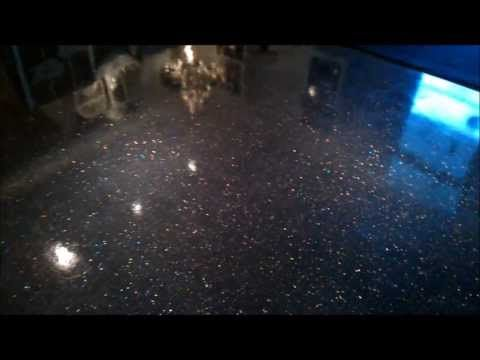"JW: The ULTIMATE flooring for ""MY"" garage!!!! To excited about this!!!! Epoxy Coatings - Glitter / Sparkle Flooring"