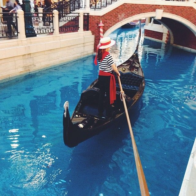 Boatlady @ The Venetian,Macau