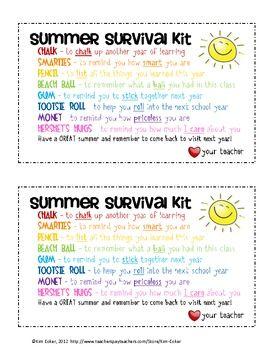 GIFT Summer Survival Kit - for students