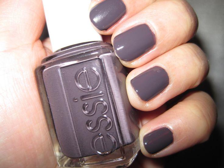 Essie Smokin' Hot: Nail Polish, Winter Colors, Nails Colors, Hot Nails, Essie Nailpolish, Beautiful Reductionista, Winter Collection, Grey Nails Polish, Essie Smokin