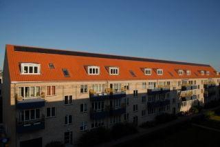 ALTERNATIV ENERGI: Sorte solceller på røde tage er grimme og passer slet ikke til stilen - det kan de fleste være enige om.