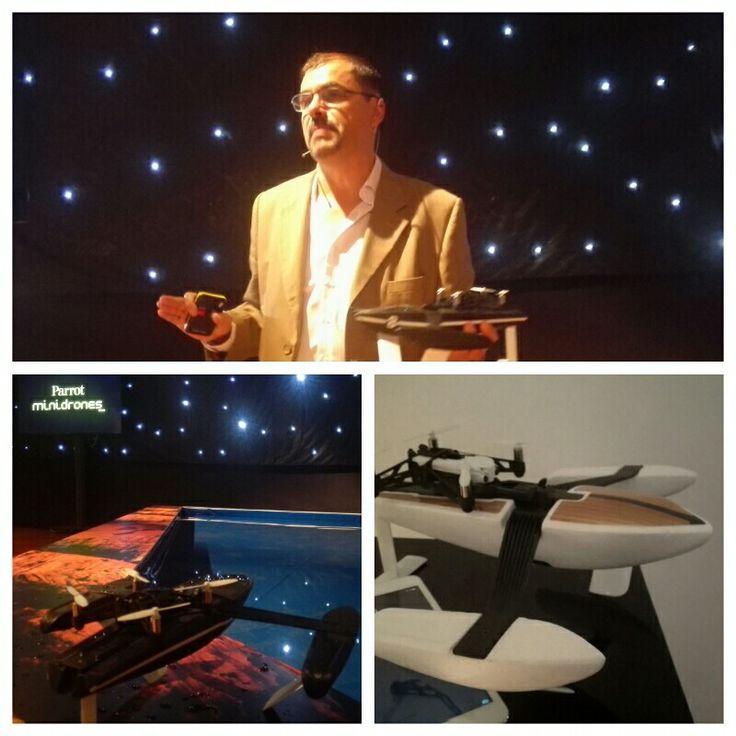 Parrot nos presentó sus nuevos drones, incluidos los anfibios