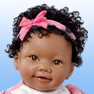African American Dolls for Toddlers | Ashton Drake Lifelike African American Baby Girl Doll with Musical