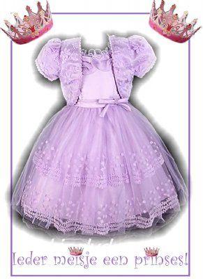 2 delige lichtpaarse gala jurk mt 92