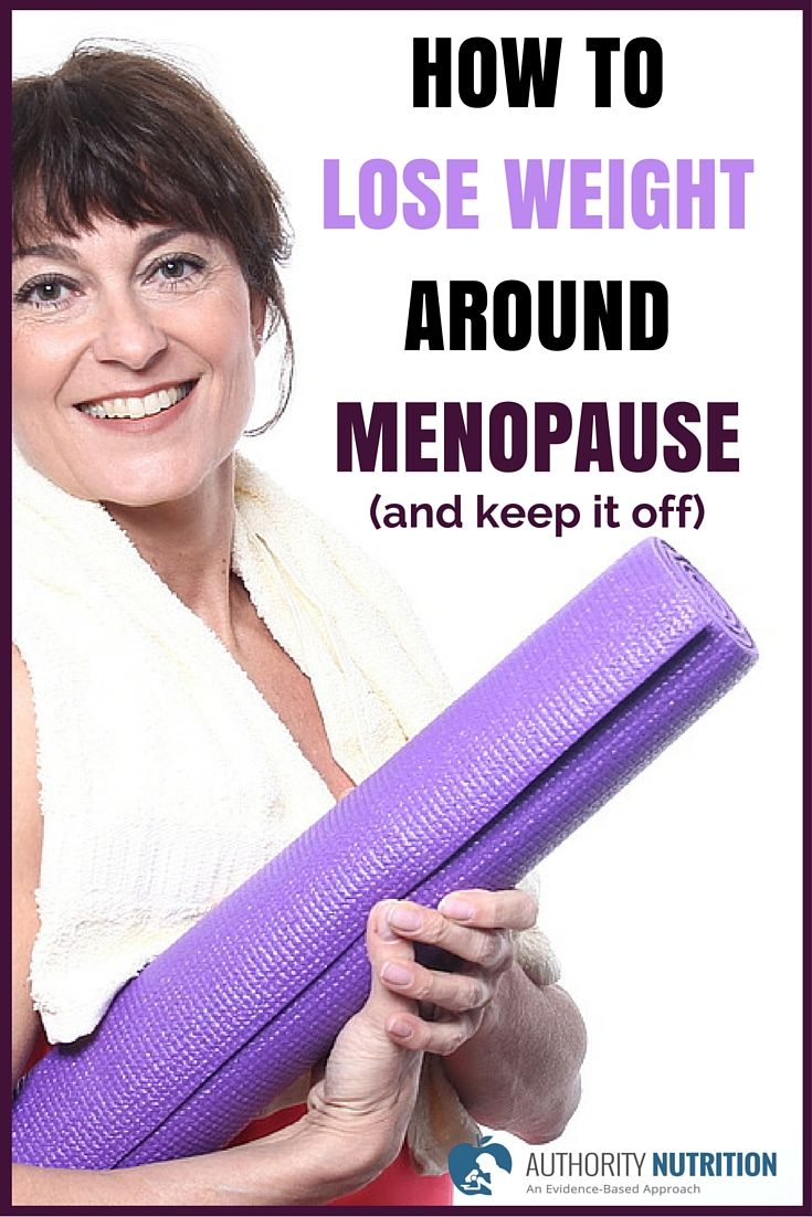 help to lose weight after menopause