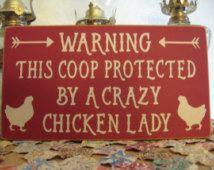 Chicken Sign,Chicken Wall Decor,Chicken Coop Sign,Kitchen Decor,Kitchen Wall…