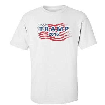 Donald Tramp | Show your sarcastic support for Trump.