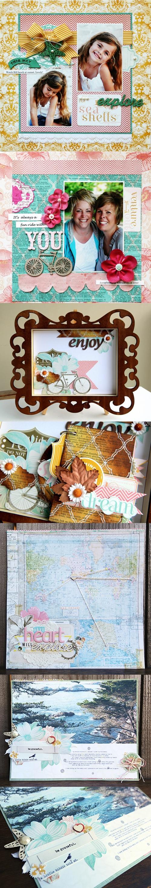 ,: Scrapbook Beaches, Scrapbook Ideas, Scrapbook Crafts, Layout Ideas, En Scrapbook, Scrapbook Inspiration, Scrap Books Ideas, Scrapbook Layout, Journals Scrapbook