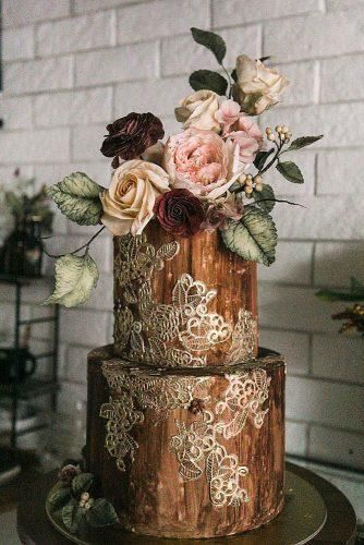 Must-See Rustic Woodland Themed Wedding Cakes ❤︎ Wedding planning ideas & inspiration. Wedding dresses, decor, and lots more. #weddingideas #wedding #bridal