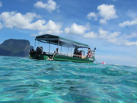 Lord Howe Island - unspoilt, beautiful, pristine  Visitor Kevin Peate took this image whilst out on a glass bottom boat, with Marine Adventures Turtle Tours  www.lordhoweisland.info/things-to-do/tours-and-services