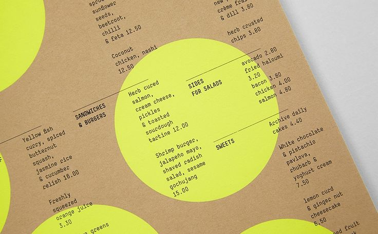 Visual identity for kitchen and homeware business Archive by Bob Design.