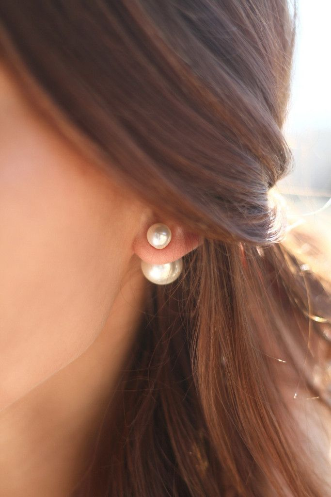 I bought these and get compliments on them ALL the time! The Peek-A-Boo Pearl Earring