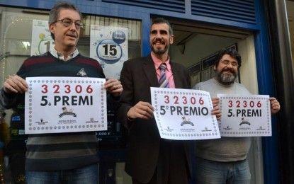 EL NÚMERO 32.306 REPARTEIX A SITGES 7'2 MILIONS D'EUROS AMB UN CINQUÈ PREMI DE LA LOTERIA DE NADAL