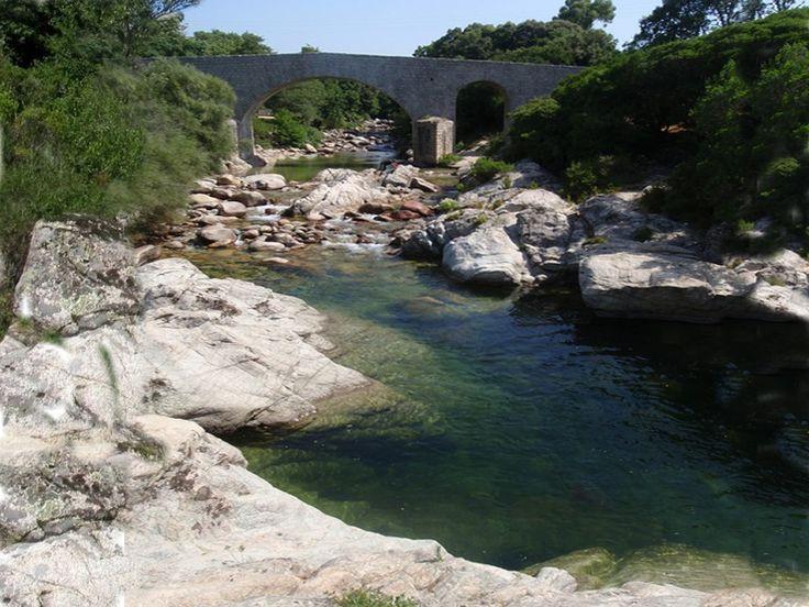 Corsica - Fleuves et Rivieres - Cavallu Mortu - Prend sa source sur la commune d'Appietto à l'altitude 470 mètres, d'une longueur de 11 kilomètres, Il coule globalement du nord vers le sud-est. Il conflue sur la commune d'Ajaccio, à l'altitude 4 mètres.Les cours d'eau voisins sont la Gravona et le Prunelli au sud et au nord le ruisseau de Lava et le Liscia.