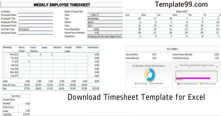 Time Card Calculator spreadsheet allows one to record all the details of one's employee such as their name, address and primary mode of contact. It allows one to enter the date the employee started working for one's company and the current date is automatically calculated.