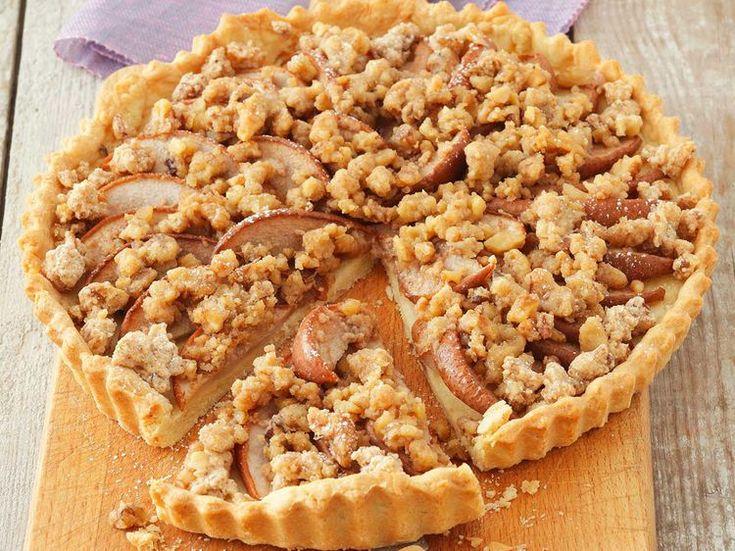 Avec les lectrices reporter de Femme Actuelle, découvrez les recettes de cuisine des internautes : Tarte crumble aux pommes