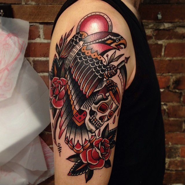 17 best images about skull tattoos on pinterest for Tattoos on old skin