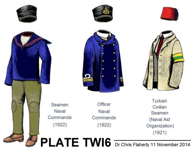 Ottoman Turkish Uniforms WW1 History First World War Militaria Turkey Wargaming Military Insignia Uniform Crimea Crimean - 1919 till 1922 Turkish Army