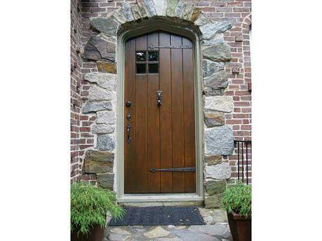 Door On A 1929 Atlanta Tudor Home Porches And Doors Pinterest Doors Tudor Style And Curb