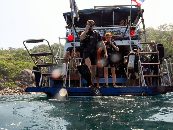 ДАЙВИНГ у островов Koh Racha Noi и Koh Racha Yai, Phuket Dive Sites - Отзывы о путешествиях на 100 Дорог