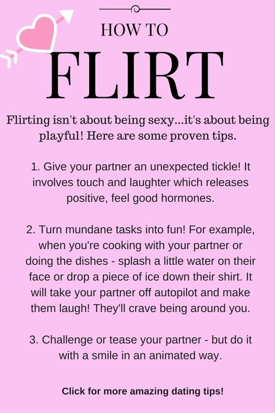 How to Flirt! Fun and proven tips! Plus click for more dating tips.