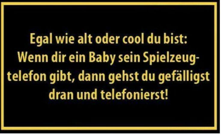 EGAL wie alt oder cool du bist: Wenn dir ein Baby....