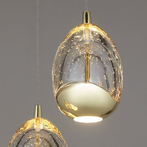 Buy John Lewis 3 Droplet LED Pendant Ceiling Light Online at johnlewis.com