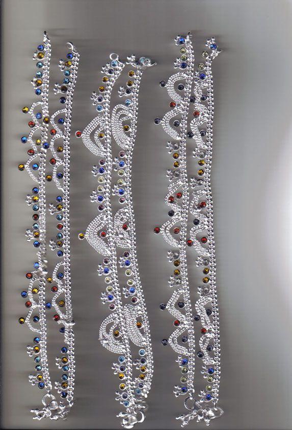 Silver Payal Designs Payal Payal Anklet Pinterest