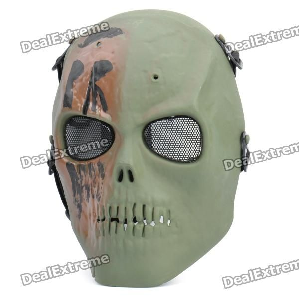 Material: Plastic - Suitable for head diameter: 76cm (adjustable) - Great for war game, cycling, skiing, theme party or other activities - Random color will be shipped: Black, army green, sand color http://j.mp/1v2TE3W