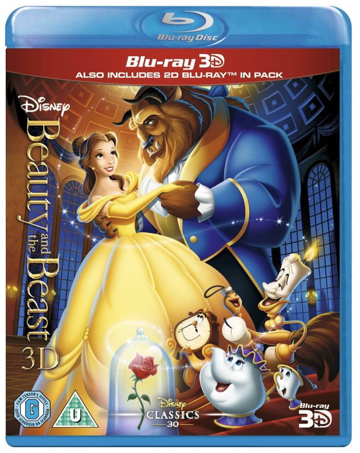 Beauty & the Beast Bluray 3D + Bluray Region Free