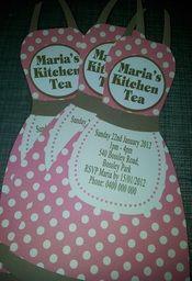 Kitchen Tea Invitations - Unique Personalised Keepsakes