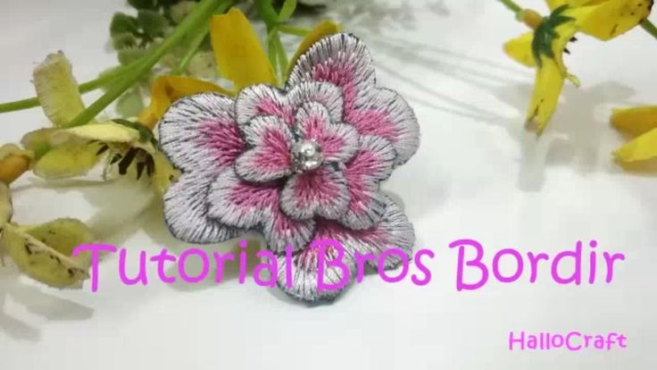 Tutorial Bros Bordir | Pins Embroidary