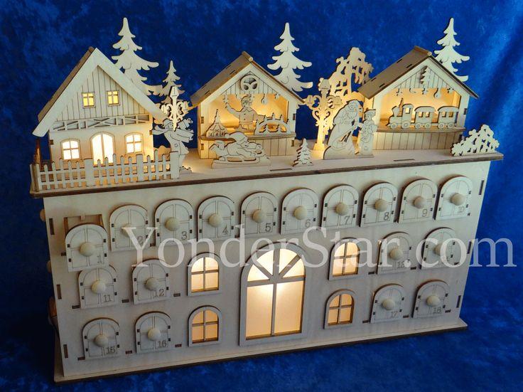 1000 ideas about wooden advent calendar on pinterest advent calendar advent and christmas. Black Bedroom Furniture Sets. Home Design Ideas