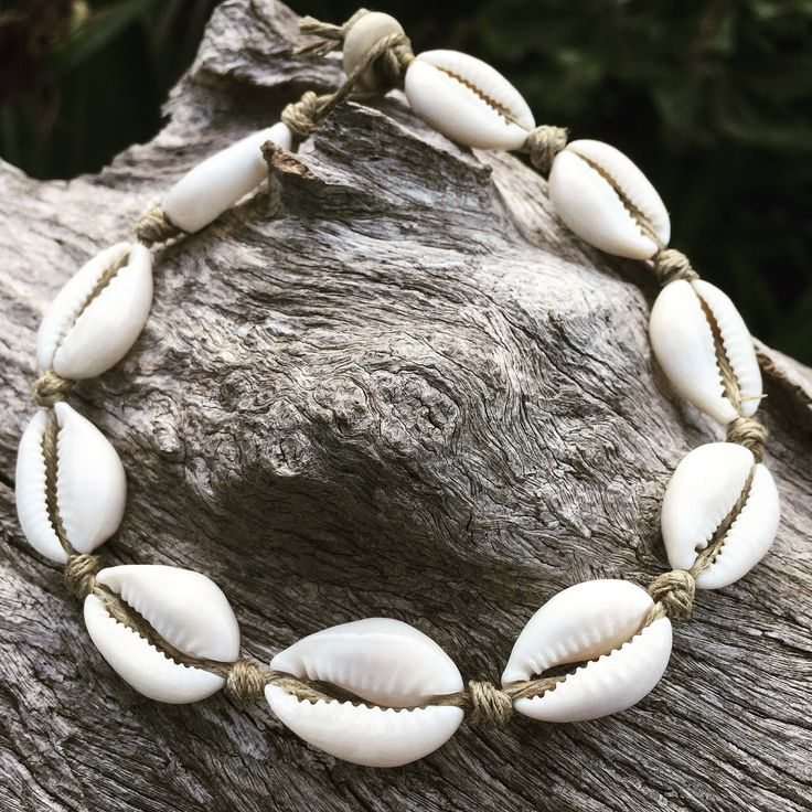 A personal favourite from my Etsy shop https://www.etsy.com/au/listing/292156311/hand-made-hemp-shell-anklet-with-cowrie