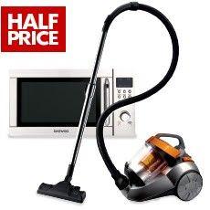 50% OFF Daewoo Microwaves & Vacuum Cleaner @ The Warehouse - Bargain Bro