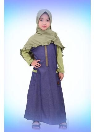 Beli Baju Dress Anak Qirani Kenanga 84 Hijau dari Aprilia Wati agenbajumuslim - Sidoarjo hanya di Bukalapak