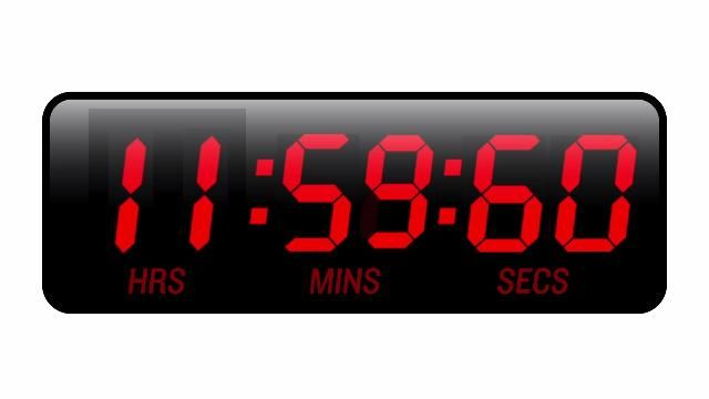 leap second 2015   second of 2015 count, you'll have to count one more second in 2015 ...
