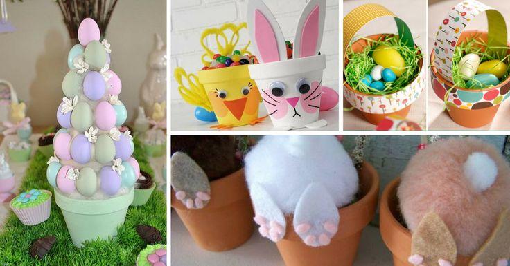 As decorações para a Páscoa são uma forma de embelezar a sua casa. São muitas as ideias DIY para esta época festiva. Pode envolver toda a família nestas at