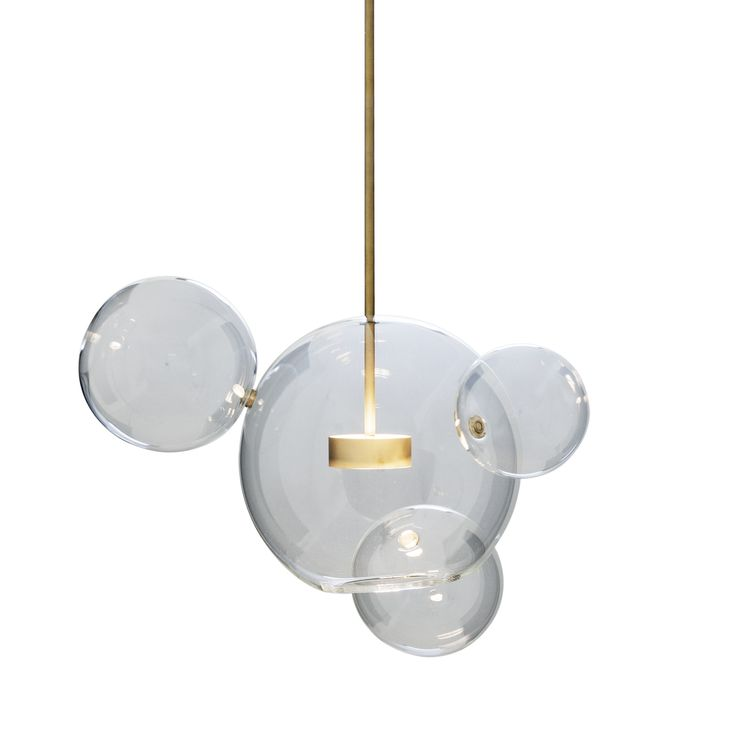 Bolle 4 Bubble Pendant by Giopato & Coombes on ECC